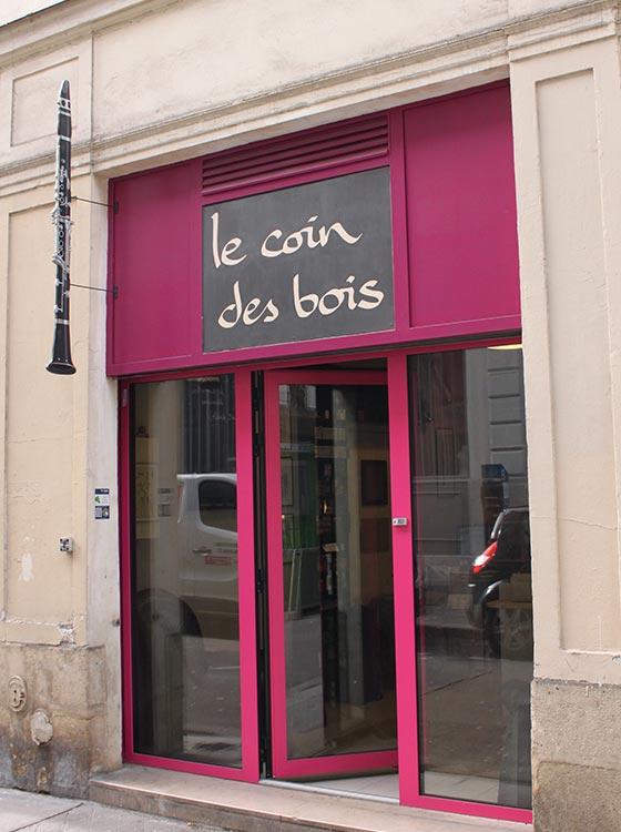 Enseigne atelier Le Coin des Bois 7cité riverin 75010
