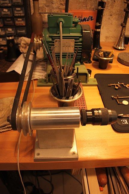 Atlier réparation instruments musique Paris